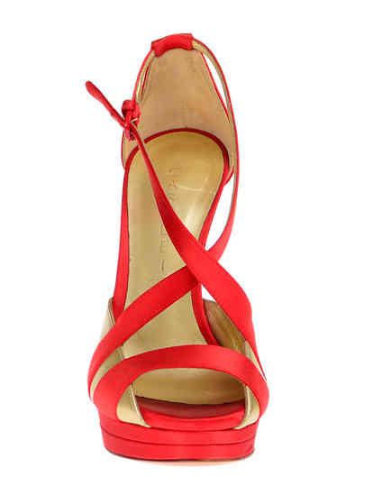 женские красные Босоножки Casadei 6476_red - фото-6