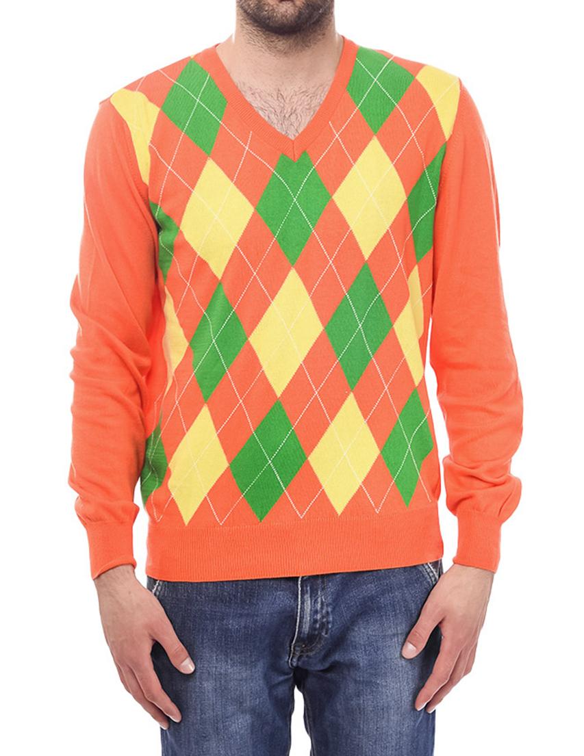 Мужской пуловер MONTANA PARIS 40316-005_orange