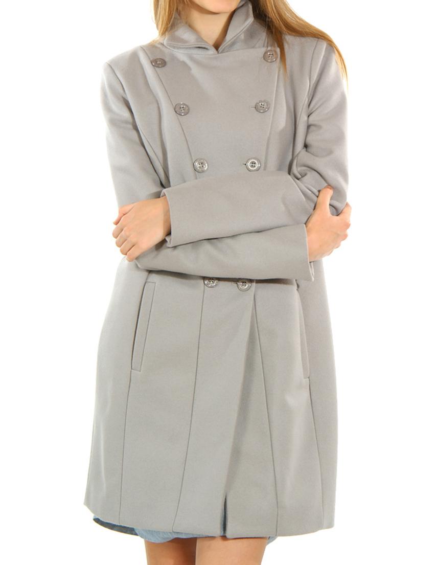 Купить Пальто, PATRIZIA PEPE, Бежевый, 80%Лана 20%Полиамид, Осень-Зима