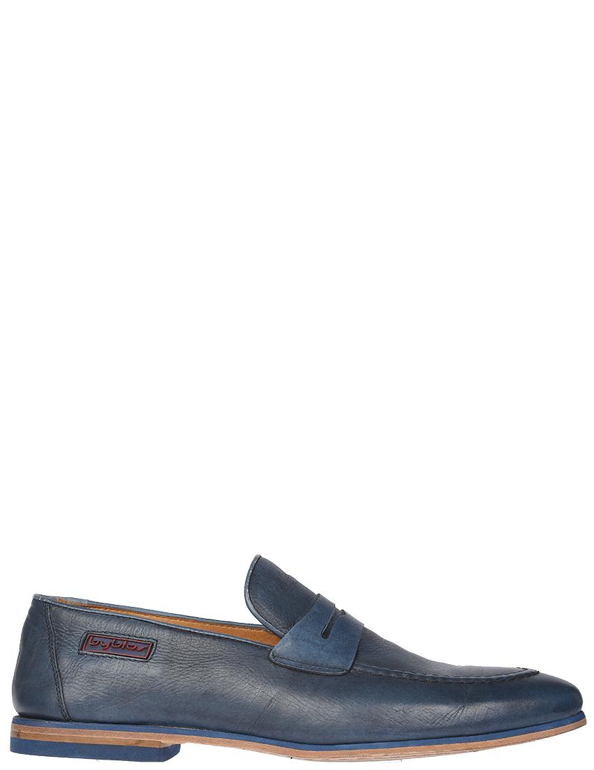 Мужские лоферы Byblos BY1106_blue