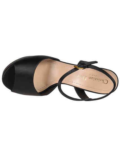 черные Босоножки Christian Dior KCQ260SAT900-1920-black размер - 36; 37; 37.5; 38; 38.5