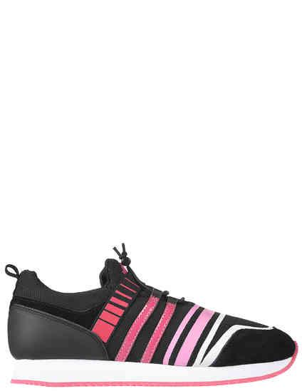 женские черные Кроссовки Trussardi Jeans 79A003419Y099999-K313 - фото-2
