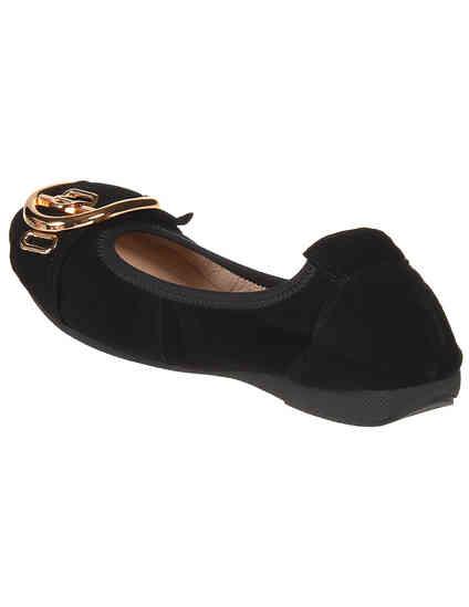 черные женские Балетки Gianni Renzi 1064_black 3900 грн