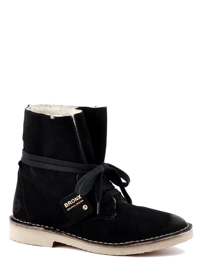 Купить Ботинки, BRONX, Черный, Осень-Зима