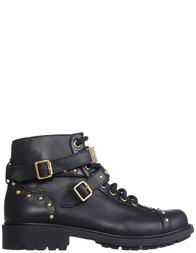 Детские ботинки для девочек Moschino 25950-nero-black