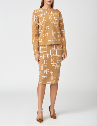 ELISABETTA FRANCHI юбка