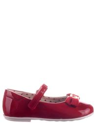 Детские туфли для девочек MOSCHINO 25413-red