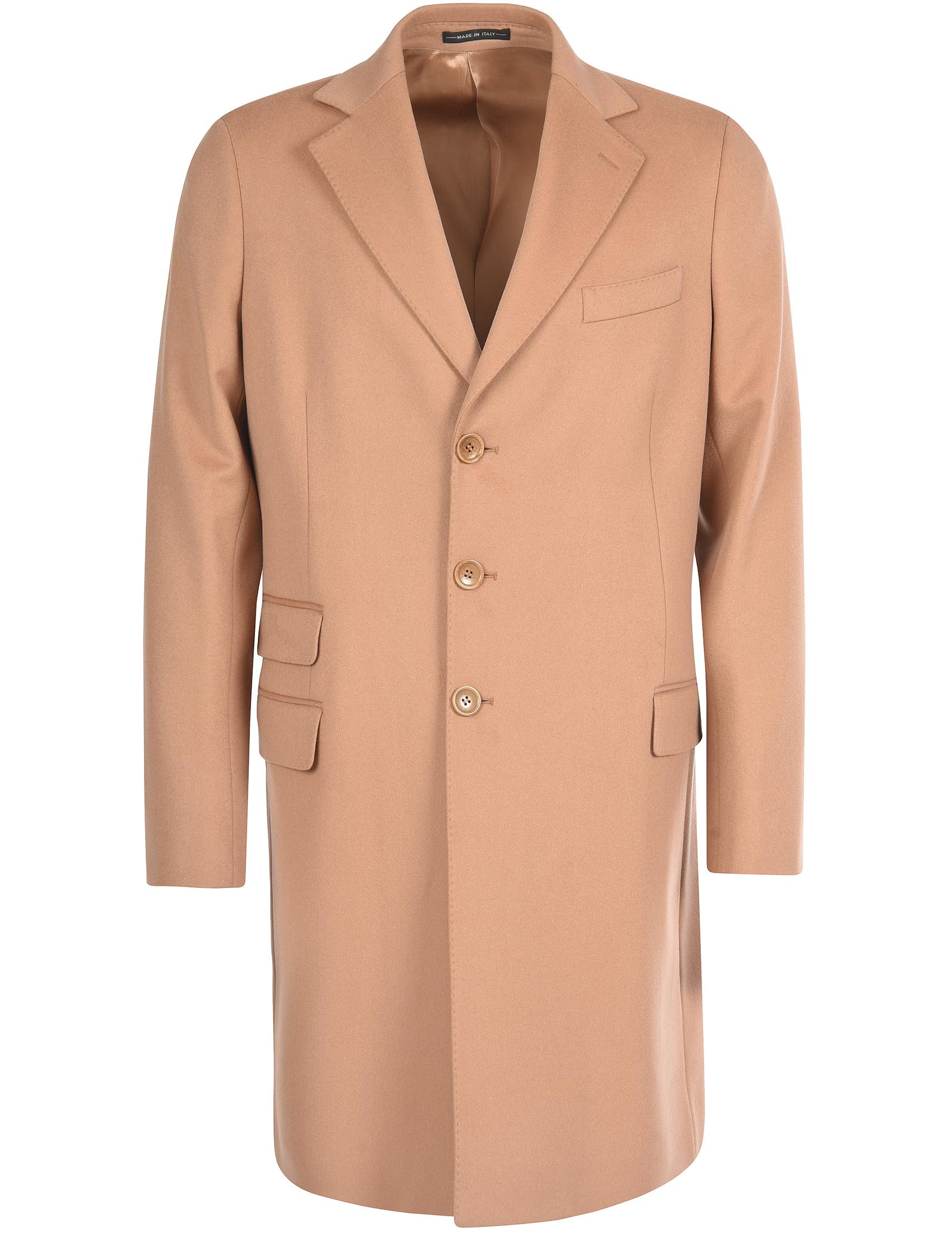 Купить Пальто, LORO PIANA, Бежевый, 100%Шерсть, Осень-Зима