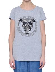 Женская футболка TRUSSARDI JEANS 56T111B-113_grey
