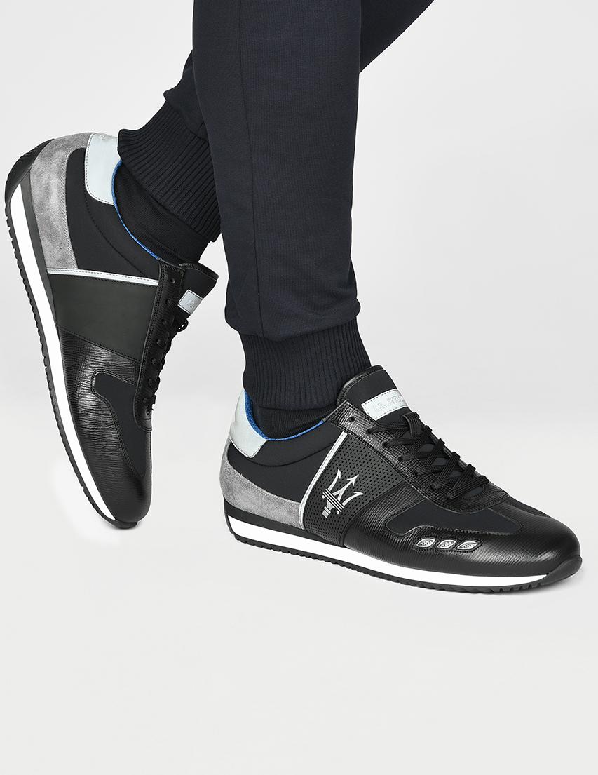 Мужские кроссовки La Martina N6095_black