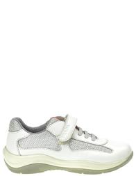 Детские кроссовки для мальчиков PRADA PRA395_white