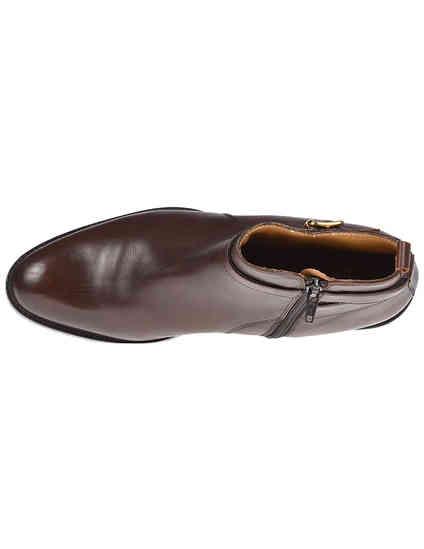 коричневые Ботинки Berto Giantin AGR-A2005808_brown размер - 36; 39; 39.5