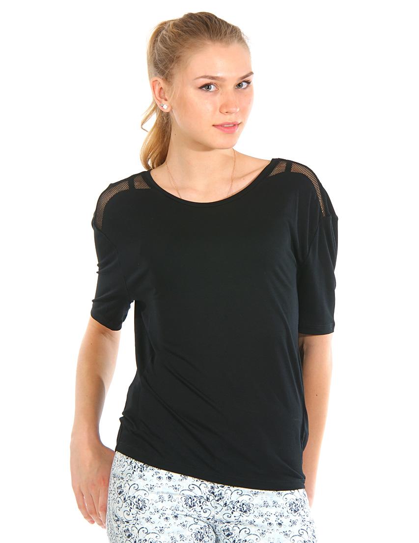 Купить Блуза, GUESS BY MARCIANO, Черный, 100%Вискоза, Весна-Лето