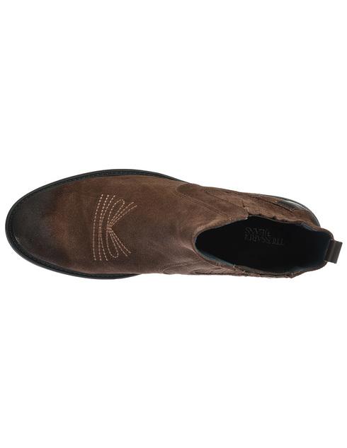 мужские коричневые замшевые Ботинки Trussardi 77A001199Y09999-B220 - фото-5
