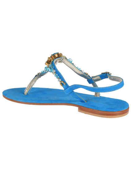 голубые женские Сандалии Roberto Serpentini RS9571_blue 3787 грн