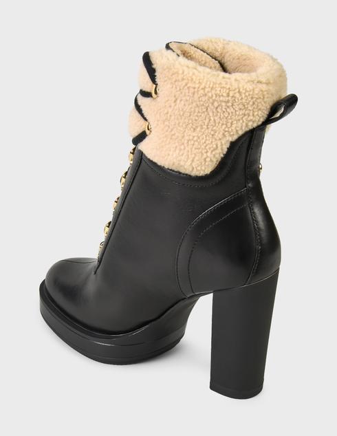 женские черные Ботинки Love Moschino JA2129AH0DIAP00A - фото-2