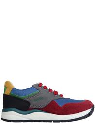 Детские кроссовки для мальчиков Naturino Jan-granata-antracite_multi
