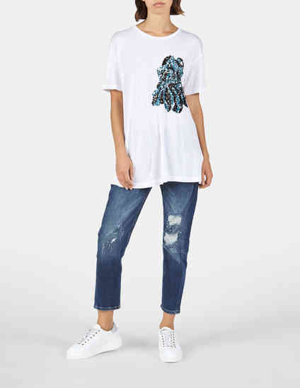 Trussardi Jeans 56T00061-W001_white фото-4