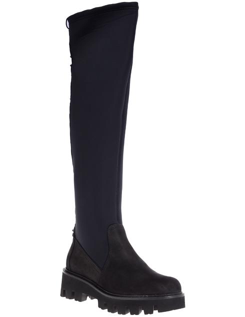 черные Ботфорты Napoleoni 4322_black