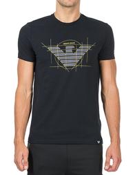 Мужская футболка ARMANI JEANS 6Y6T12_black