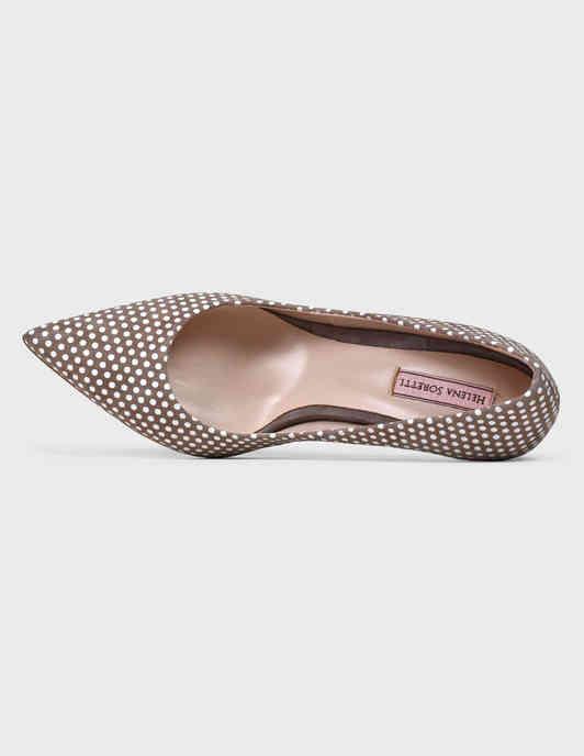 бежевые Туфли Helena Soretti 8203-beige размер - 35; 37; 38; 39; 40