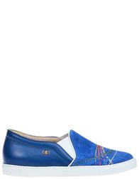 Женские слипоны Norma J.Baker 9068E6A_blue