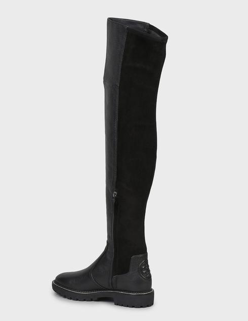 женские черные Ботфорты Tory Burch 74194-BLACK - фото-2