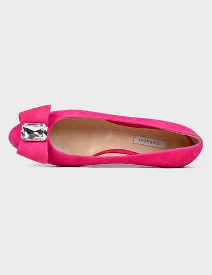 розовые Балетки Casadei 178-pink размер - 36; 37; 38; 39; 39.5; 40; 41