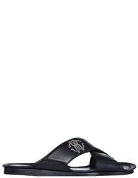 Мужские шлепанцы Roberto Cavalli 2083_black
