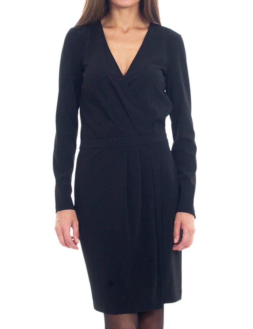 Купить Платье, PATRIZIA PEPE, Черный, 12%Эластан 88%Полиэстер, Осень-Зима