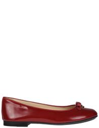 Детские балетки для девочек Dolce & Gabbana 80303_red