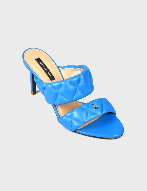 синие Шлепанцы Patrizia Pepe AGR-2VA174/A8X2-C859