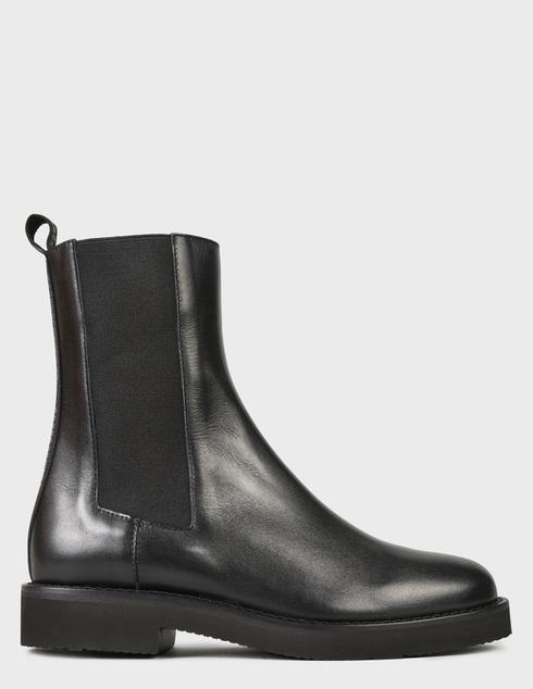женские черные Ботинки Baldinini D2B361VIGE0000 - фото-6