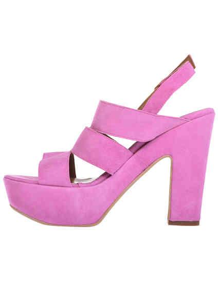 фиолетовые женские Босоножки Esther Collezioni Cris036_pink 1755 грн