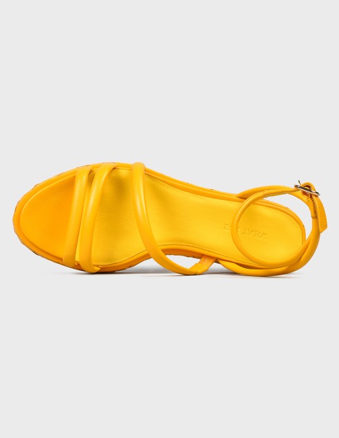 желтые женские Босоножки What For SS21WF143 3468 грн
