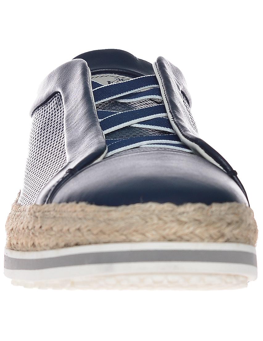 Фото 4 - мужские кроссовки  синего цвета