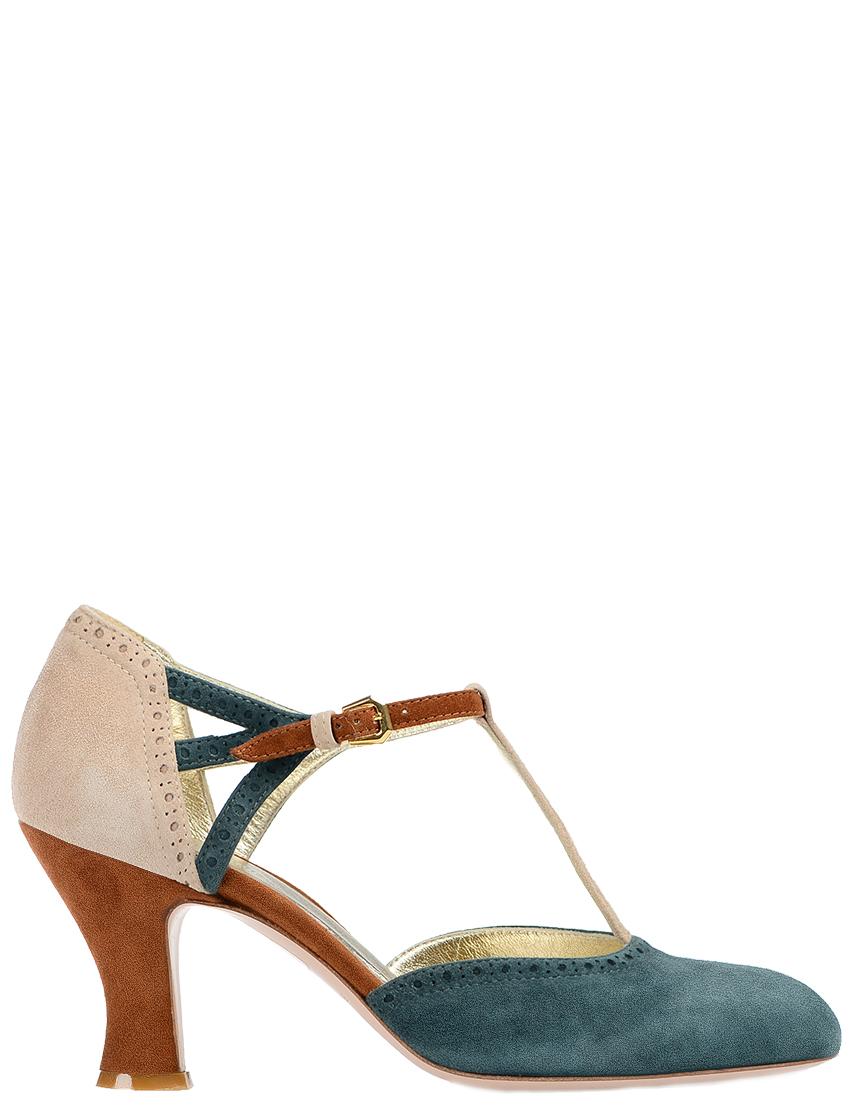 Купить Туфли, INES DE LA FRESSANGE, Многоцветный, Весна-Лето