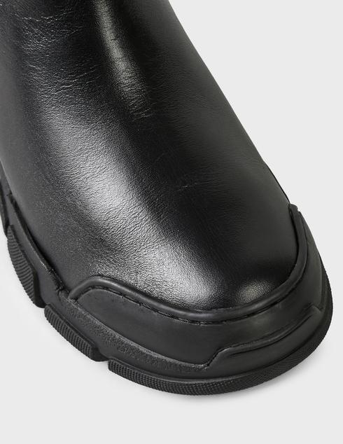 женские черные кожаные Ботинки Love Moschino JA15614G0DIAI00A - фото-5