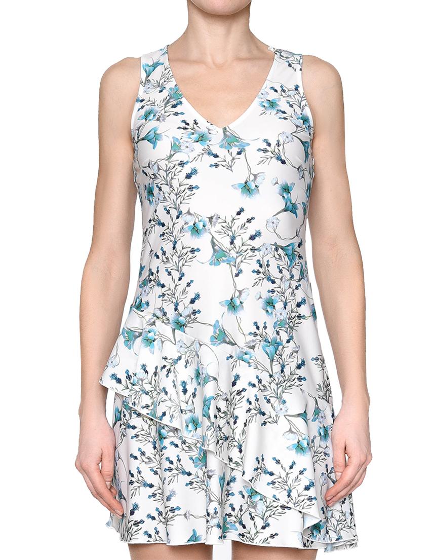 Купить Платье, PATRIZIA PEPE, Белый, 20%Эластан 80%Полиамид, Весна-Лето