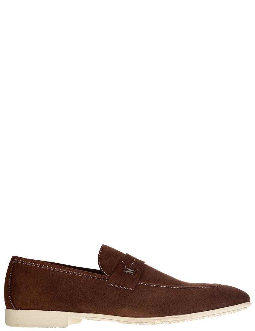 Мужские лоферы Moreschi S42657_brown