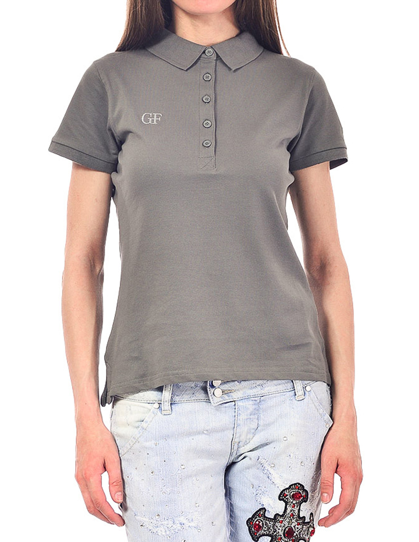 Женское поло GF FERRE POD42016_gray