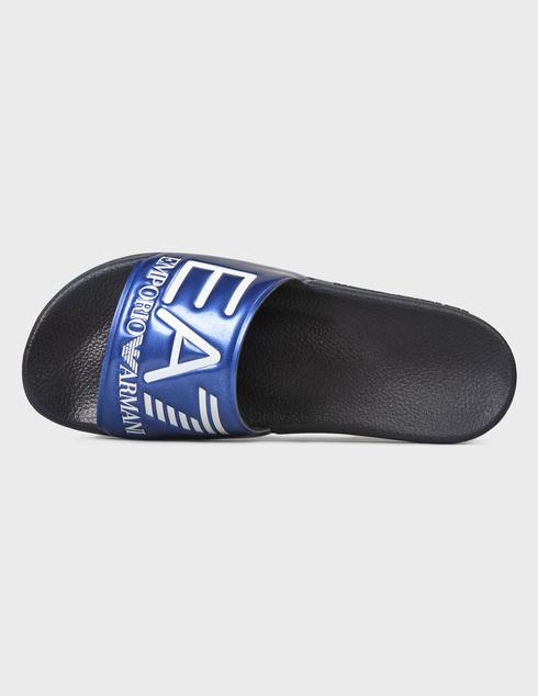 синие мужские Шлепанцы Ea7 Emporio Armani XCP001XCC22-D959 1259 грн