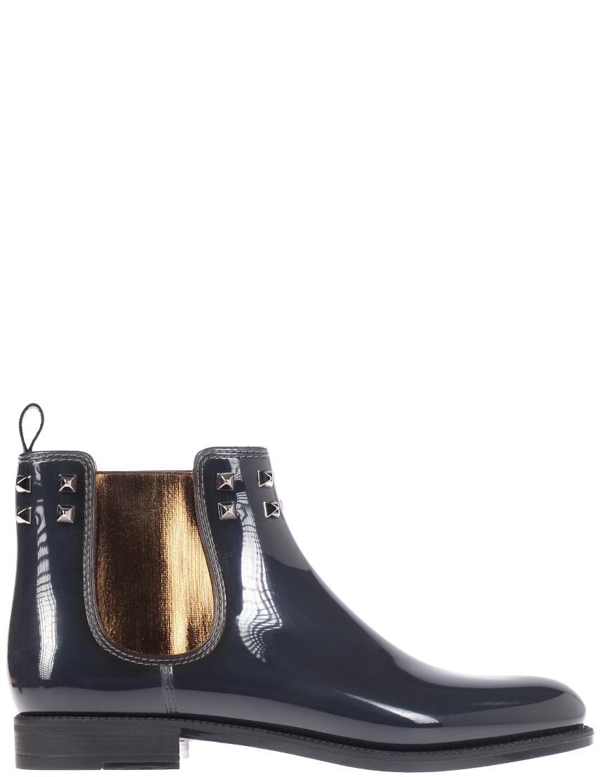 Женские ботинки Menghi 1372piramid-nero-grigio_gray