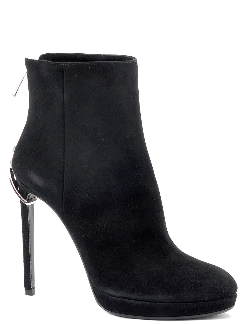 Купить Ботинки, TWICE, Черный, Осень-Зима