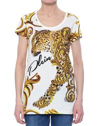 Женская футболка PHILIPP PLEIN 0052_white
