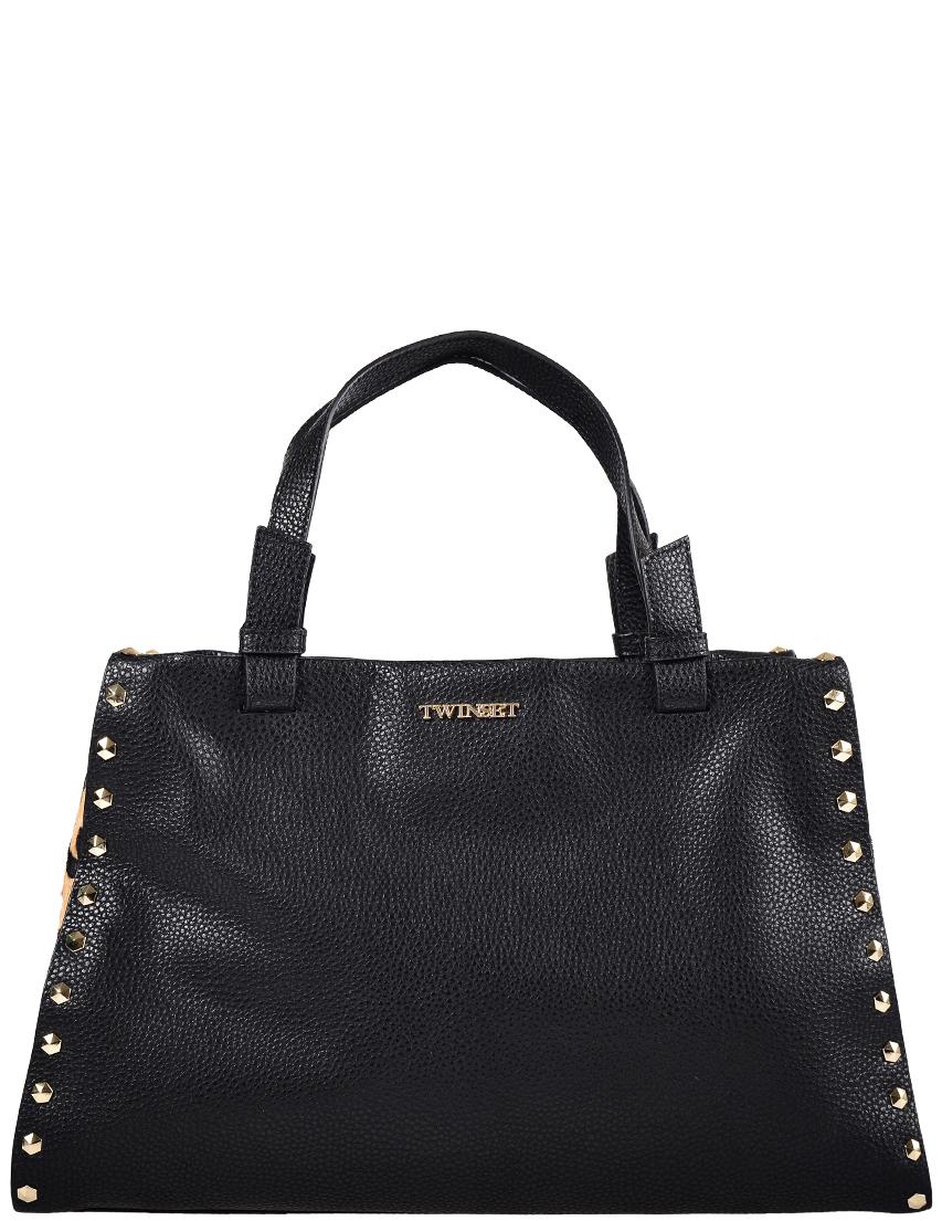 Купить Женские сумки, Сумка, TWIN-SET, Черный, Осень-Зима