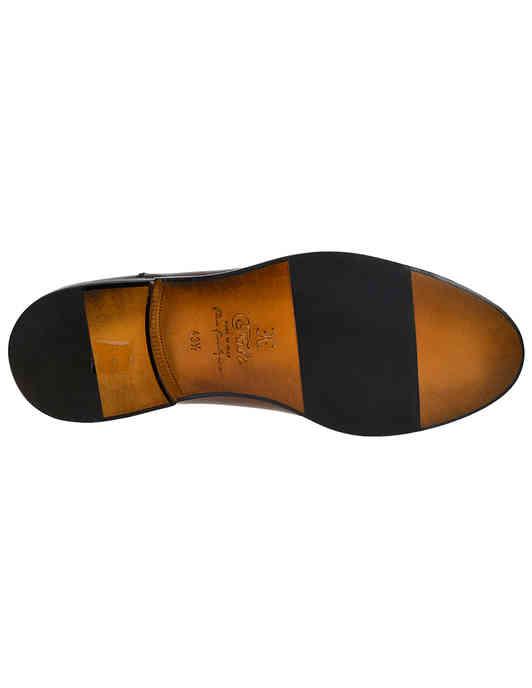 мужские коричневые кожаные Оксфорды Fabi FU9144A-815 - фото-5