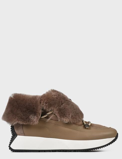 женские коричневые Ботинки Loriblu 2I54620100 - фото-2