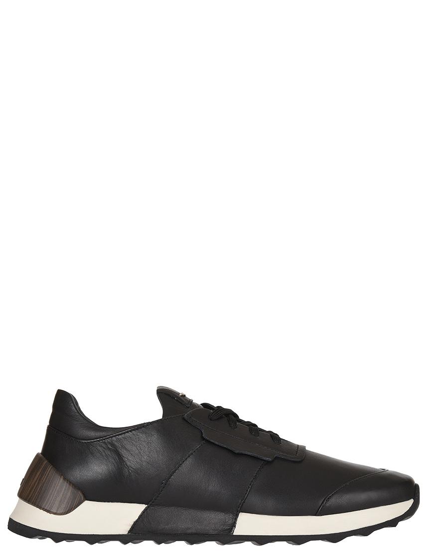 Мужские кроссовки Alberto Guardiani 77493-К_black