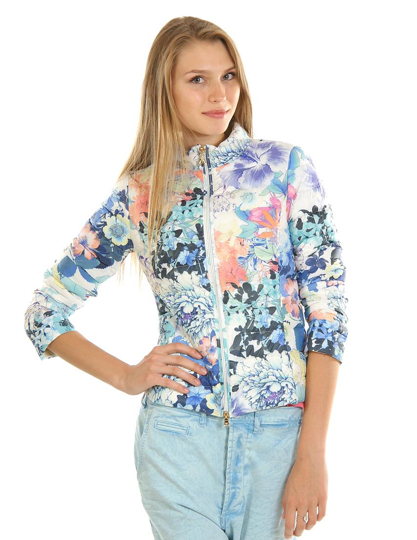 Купить Куртка, PATRIZIA PEPE, Многоцветный, 100%Пух, Весна-Лето